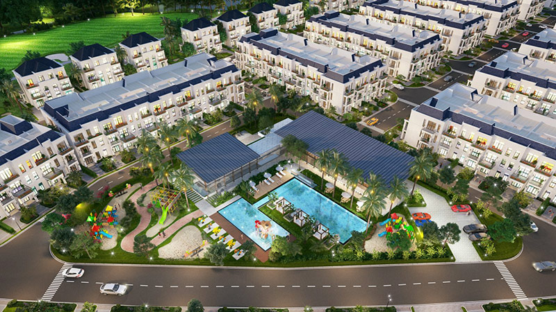 """West Lakes Golf & Villas: Môi trường sống """"All in one"""""""