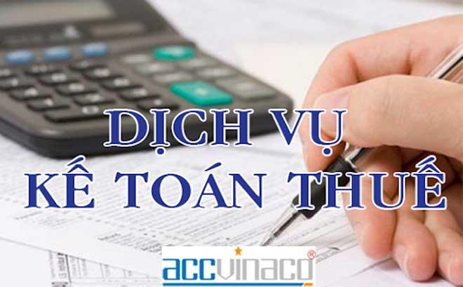 Báo giá Dịch vụ kế toán thuế quận Tân Phú năm 2021